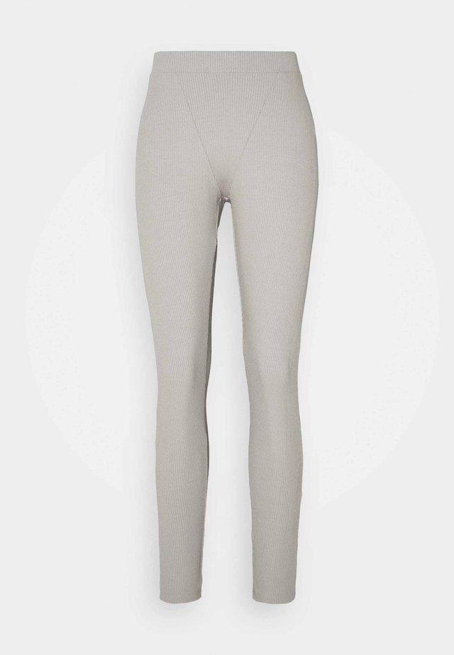 BOXER DETAIL - Legging - grey