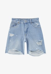 PULL&BEAR - Shorts di jeans - blue - 6