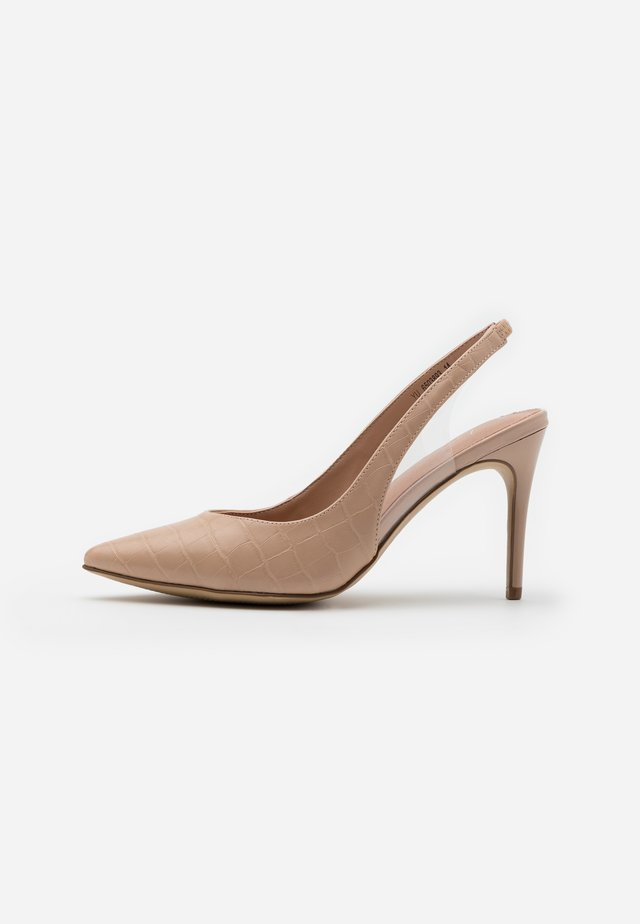 SIMPLY - Zapatos altos - oatmeal