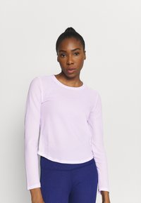 Puma - TRAIN LONG SLEEVE - Maglietta a manica lunga - light lavender - 0