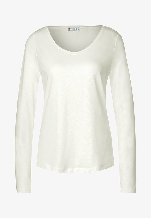 IM BASIC STYLE - T-shirt à manches longues - weiß