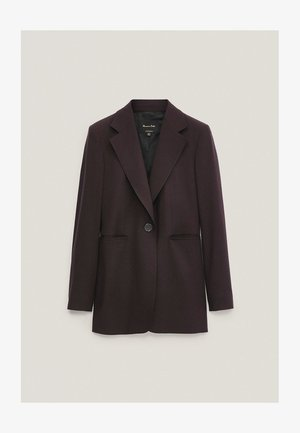 Short coat - dark purple