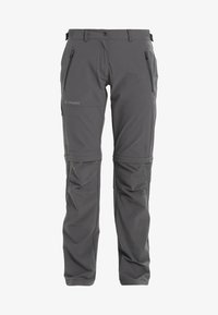 Vaude - WOMEN'S FARLEY STRETCH ZO T-ZIP PANTS 2-IN-1 - Trousers - iron - 9