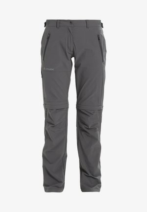 WOMENS FARLEY STRETCH ZIP PANTS - Trousers - iron