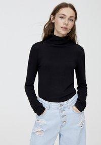 PULL&BEAR - Pullover - black - 3