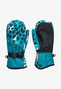 Roxy - JETTY G MITT G MTTN BRV - Gloves - ocean depths leopold - 0