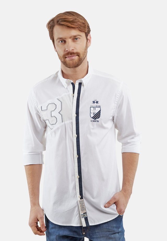PERRY VALE - Camicia - optic white