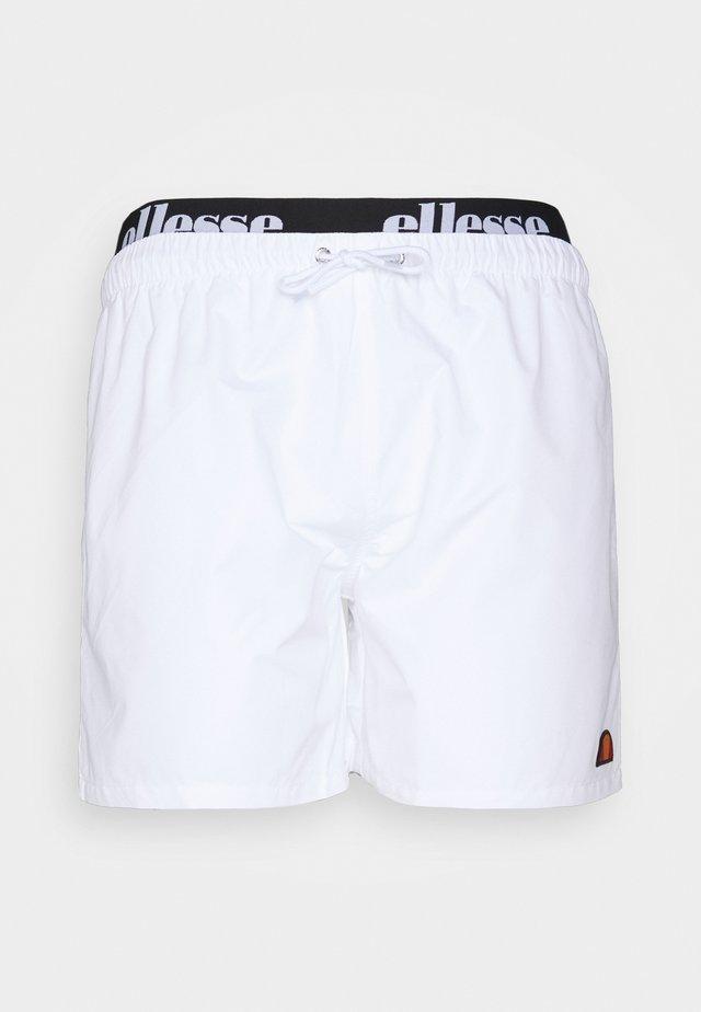 TEYNOR - Swimming shorts - white