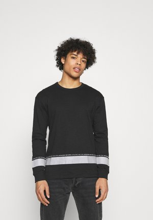 JCOLEX TEE CREW NECK - Long sleeved top - black