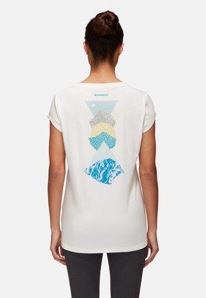 MASSONE - Print T-shirt - white