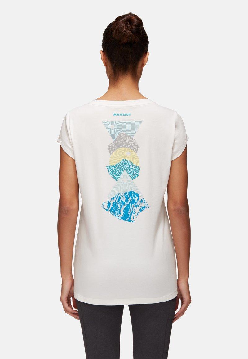 Mammut - MASSONE - T-Shirt print - white