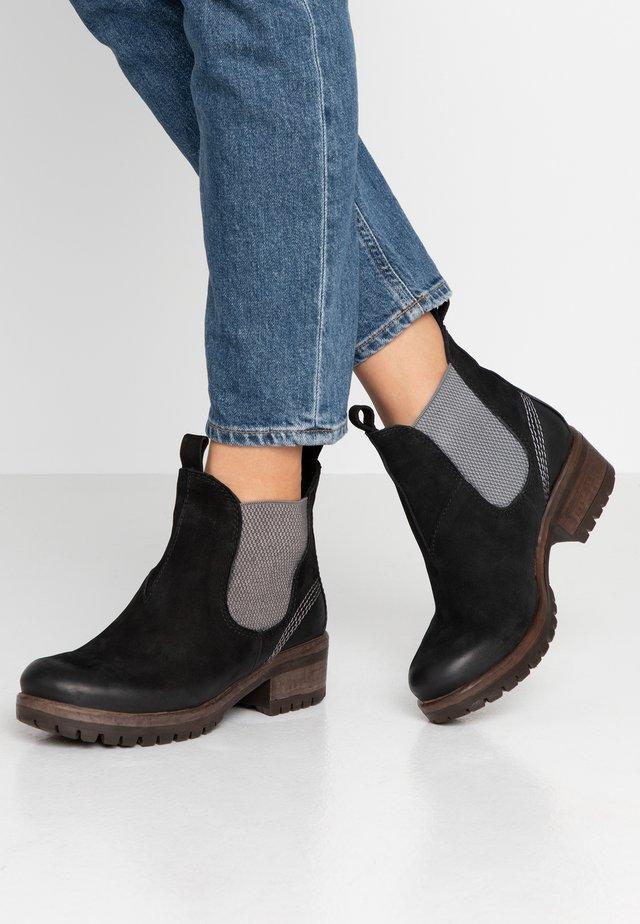 Ankle Boot - nero/grey