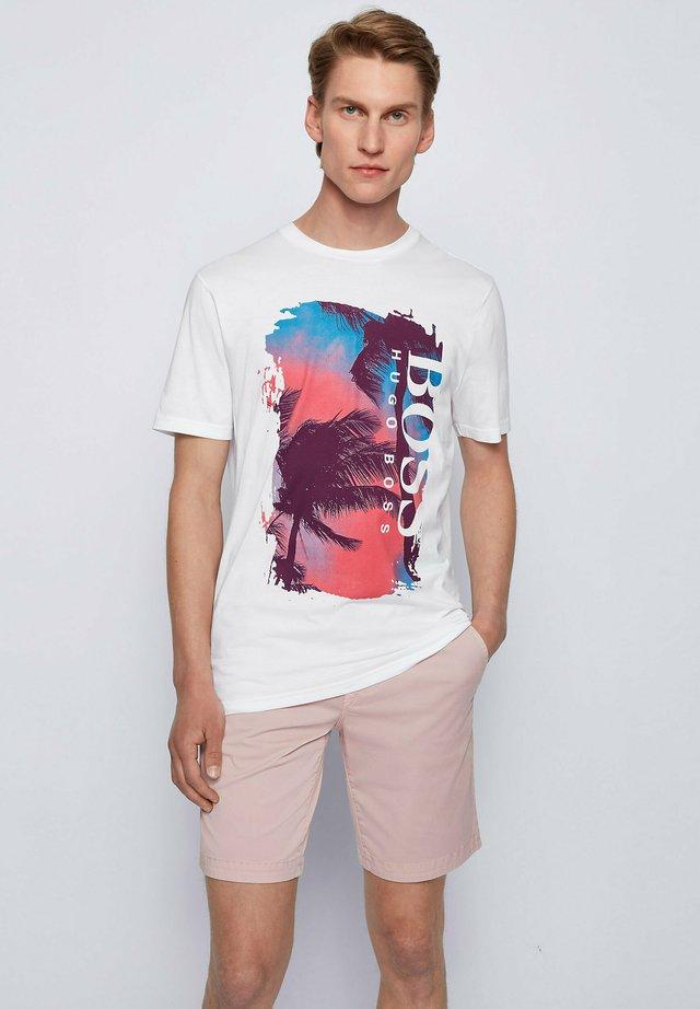 TSUMMERY - T-shirt con stampa - natural