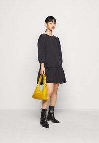 ONLY Petite - ONLDEA 3/4 TUNIC DRESS - Day dress - black - 1