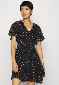 Guess - ELLA  - Day dress - black/white - 3