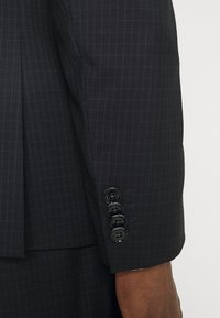 Calvin Klein Tailored - TONAL GRID CHECK EXTRAFINE SUIT - Suit - navy - 7