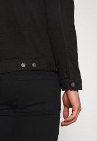 Denim Project - KASH DESTROY JACKET - Denim jacket - black - 5