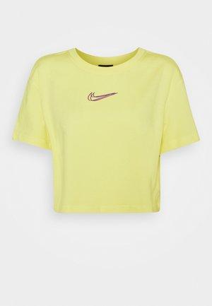 CROP TEE  - T-shirt basic - zitron