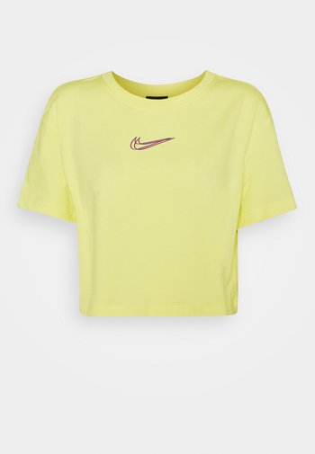 CROP TEE  - Basic T-shirt - zitron
