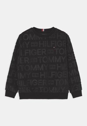LOGO  CREWNECK - Fleece trui - black
