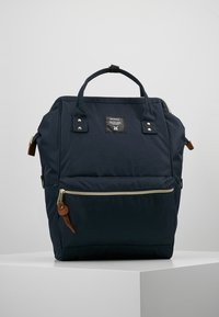 anello - BACKPACK COLOR BLOCK LARGE UNISEX - Batoh - navy - 0