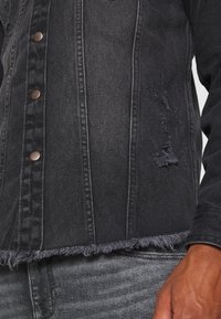 Redefined Rebel - JACKSON JACKET - Shirt - black/grey - 5