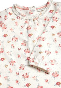 Next - ECRU/PINK 3 PACK DUCK AND FLORAL T-SHIRTS (0MTHS-3YRS) - Longsleeve - pink - 5