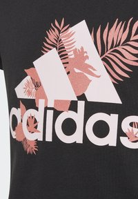 adidas Performance - TROPICAL SPORTS GRAPHIC TEE - Camiseta estampada - black - 3