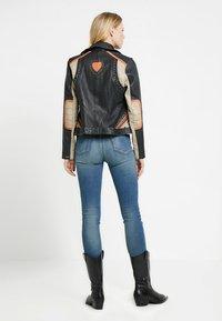 Maze - TICABOO - Leather jacket - black - 2