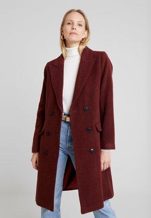 ZELIEIW CLASSIC COAT - Classic coat - russet brown