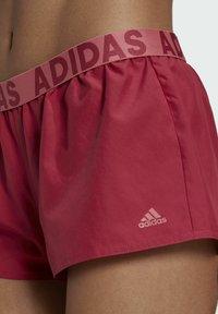 adidas Performance - BEACH SHORTS - Swimming shorts - pink - 3