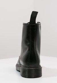 Dr. Martens - 1460 - Šněrovací kotníkové boty - mono black - 3
