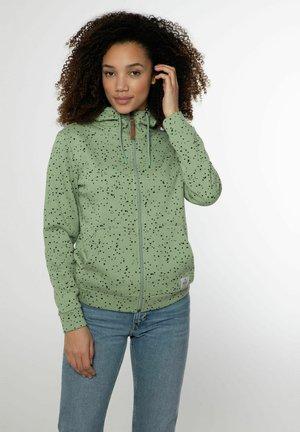 NXG TAMARS - Sweater met rits - juniper