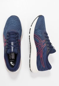 ASICS - GEL-EXCITE 7 - Obuwie do biegania treningowe - peacoat/classic red - 1