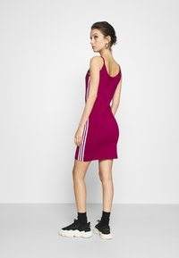 adidas Originals - TANK DRESS - Shift dress - power berry/white - 2