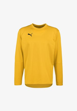 LIGA  - Sweatshirt - cyber yellow / black