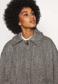 Weekday - CARLI JACKET - Short coat - black/white - 4