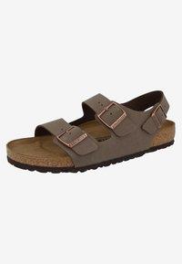 Birkenstock - MILANO BIRKO-FLOR  - Walking sandals - brown - 2