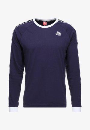 AUYEN - Långärmad tröja - dark blue/black