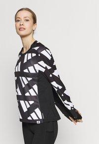 adidas Performance - CELEB - T-shirt sportiva - black/white - 3