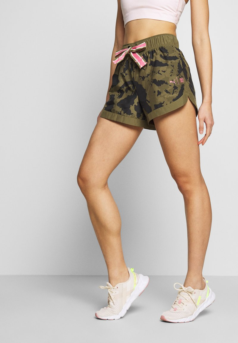 Puma - THE FIRST MILE SHORT - Sports shorts - burnt olive