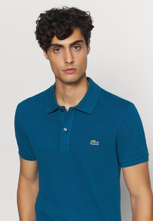 Polo shirt - raffia matting
