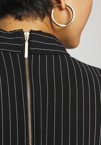 Closet - CLOSET FULL SKIRT SHIRT DRESS - Paitamekko - black - 5