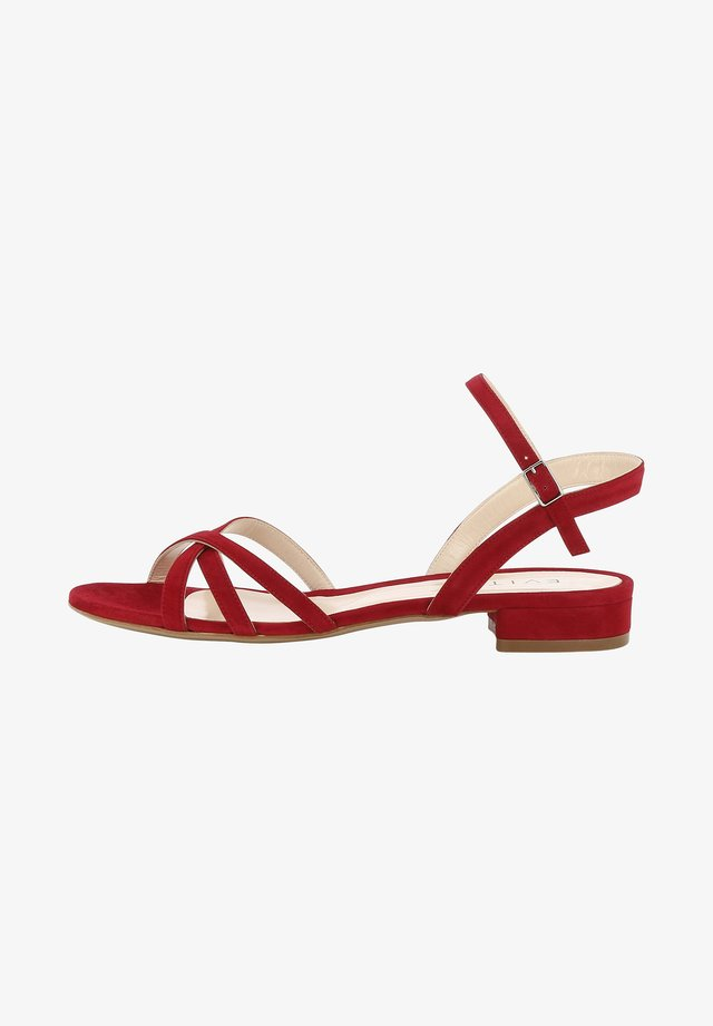 SALVINA - Sandals - red