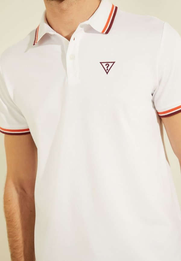 Guess Koszulka polo - weiß/biały Odzież Męska BQIK