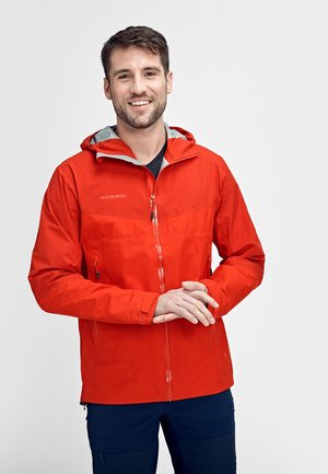 CONVEY TOUR HOODED JACKET MEN - Outdoorjas - red