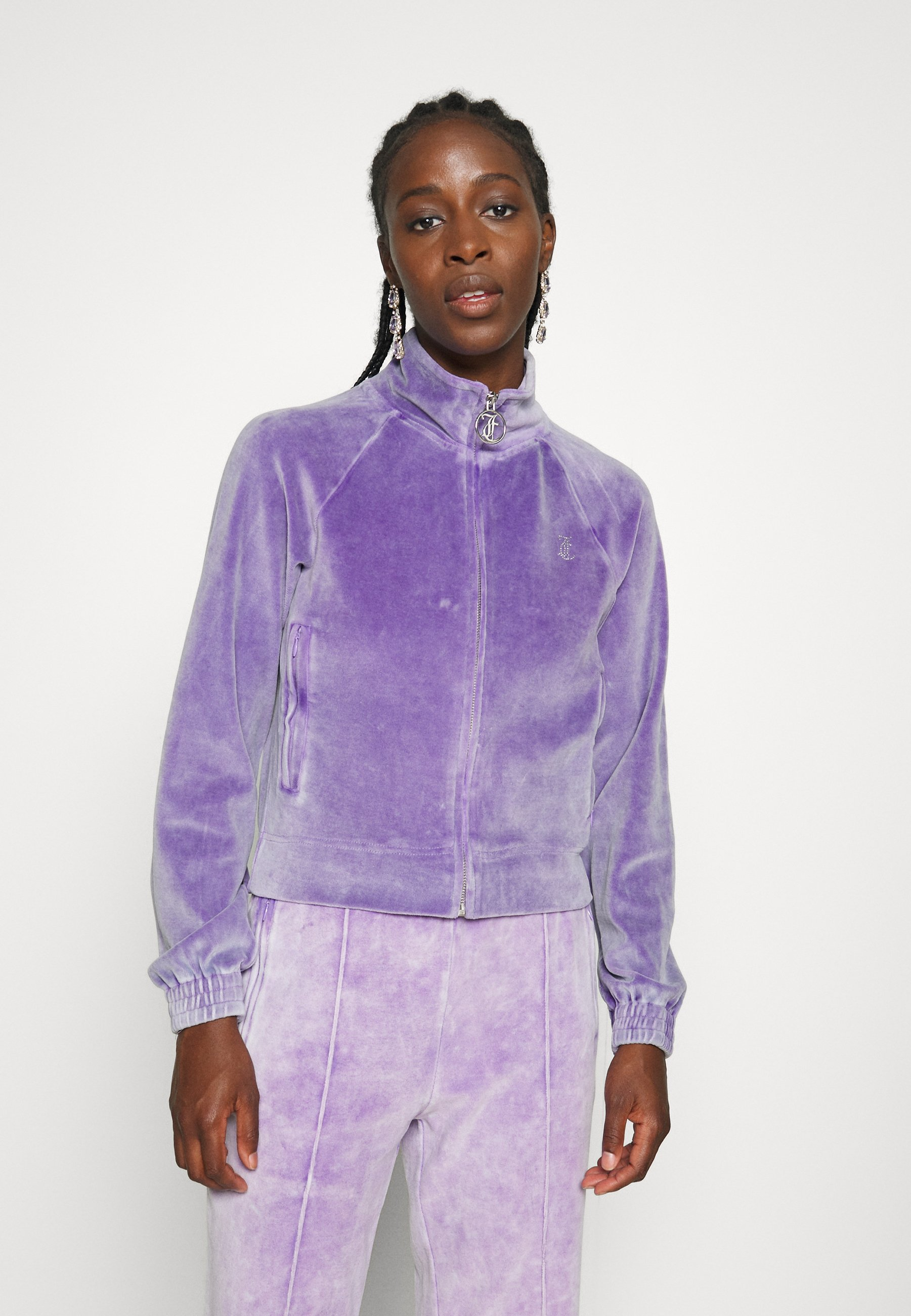 Women TANYA ACID TRACK - Zip-up sweatshirt