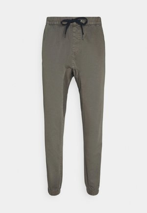 DRAKE CUFFED PANT - Trousers - washed olive