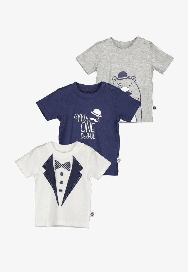 LITTLE GENTLEMAN - T-shirt print - grey