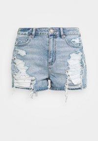 MOM - Denim shorts - classic vintage destroy